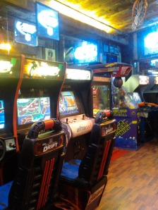 The games selection is small, but there is still enough to keep you busy while you wait for your meal.
