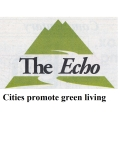 echo cities promote green living_NEW