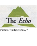 echo fitness walk