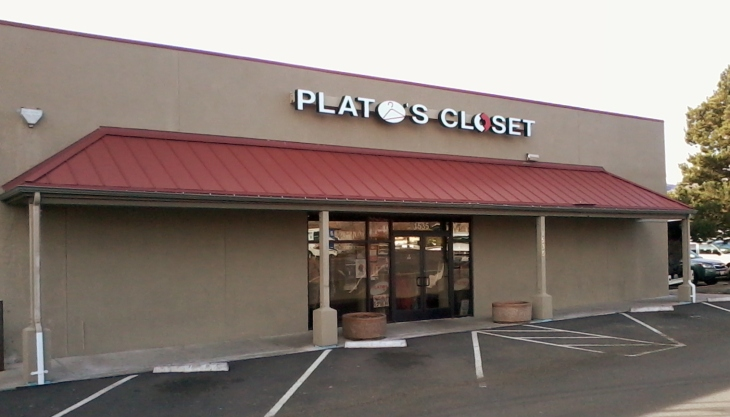 Located at 1535 South Virginia Street in Reno, Plato's Closet sits at the southern border of Reno's popular midtown.