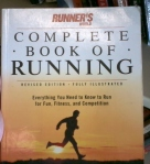 I bought this book about running for 25 cents. There was a little wear on the top right corner, but the pages were clean and intact. A great deal! Now I just have to actually go running.