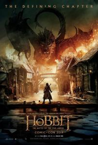 "If you were disappointed that the ""desolation of Smaug"" part of the story never happened in the movie ""The Hobbit: The Desolation of Smaug,"" you be glad to know that seemingly unimportant event is dealt with in the first ten minutes of the new film."